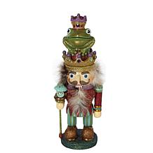 "Kurt Adler 15"" Hollywood Frog Prince Nutcracker"