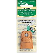 Leather Coin Thimble