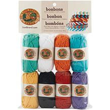 Lion Brand Yarn Bonbons 8 Pack - Beach