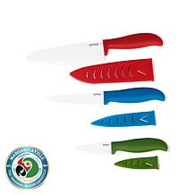 Margaritaville 6-piece Ceramic Knife Set