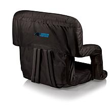 Picnic Time Ventura Folding Chair-Carolina Panthers