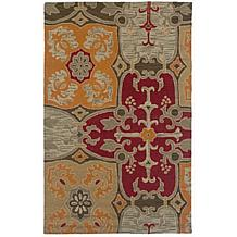 Rizzy Home Country Hand-Looped and Tufted Multi Rug