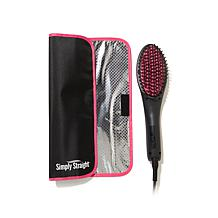 Simply Straight™ Straightening Brush with Heat Mat