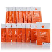 TanTowel® Half Body Plus Self-Tanning Towelette 16-pack
