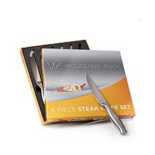 Wolfgang Puck Bistro Elite 6-piece Steak Knife Set