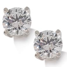 1ct Absolute™ Round 4-Prong Stud Earrings