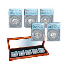 2016 PR70 Proof Silver FDOI LE National Parks Quarters