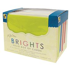 40 Cards and Envelopes - Bright Solids
