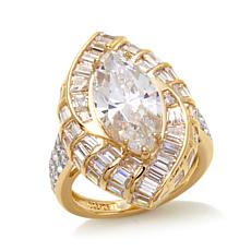 7.2ctw Absolute™ Marquise Vermeil Ring