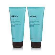 AHAVA Sea-Kissed Deadsea Mineral Hand Cream Duo