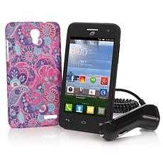 Alcatel Popstar TracFone Android Smartphone Bundle