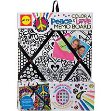 ALEX Toys Color A Memo Board Kit - Peace and Love