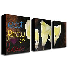 "Amanda Rea ""Eat Pray Love"" Giclée-Print Set"