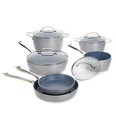 Chopped™ 10-piece QuanTanium Nonstick Cookware Set