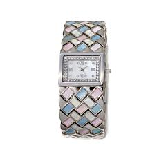 "Colleen Lopez ""Time to Charm"" Mother-of-Pearl Watch"