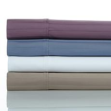 Concierge Collection Satin Stripe Easy Care Sheet Set