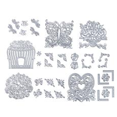 Crafter's Companion 5-pack Ornate Stackable Dies