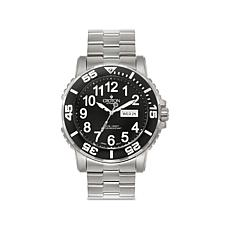 Croton Black Dial Rotating Bezel Automatic Dive Watch