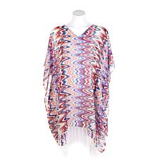 Curations Caravan Fringed Poncho