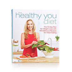 "Dawna Stone ""Healthy You"" Handsigned Cookbook"