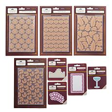 Downton Abbey Papercrafting 8-piece Dies & Folders