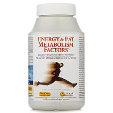 Energy & Fat Metabolism Factors - 360 Capsules