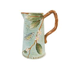 Fitz and Floyd Hand Painted Toulouse Pitcher