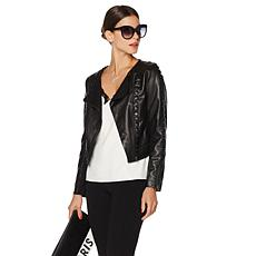 French Rendez Vous Faux Leather Jacket