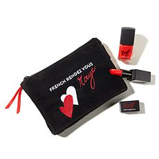 French Rendez Vous Lipstick & Nail Set - Rouge Paris