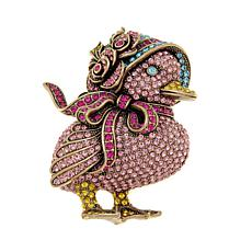 "Heidi Daus ""Hot Chick"" Crystal Pin"