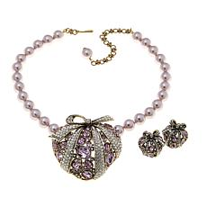 "Heidi Daus ""Love is a Gift"" Crystal Jewelry Set"