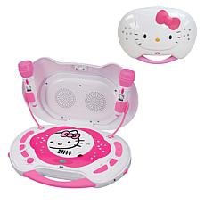 Hello Kitty CD Karaoke System/CD Player