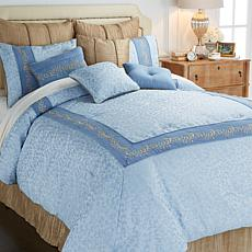 Highgate Manor Elizabeth 10pc Jacquard Comforter Set