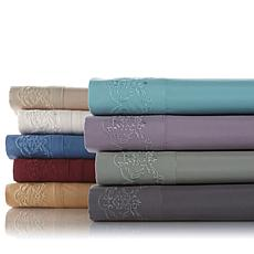 Highgate Manor Florence Microfiber Embroidered Sheets