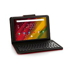 "HP 10"" Quad-Core 16GB Android Tablet w/Keyboard Case"