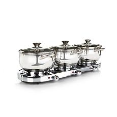 Infusion Collection 7pc Triple-Burner Buffet Set