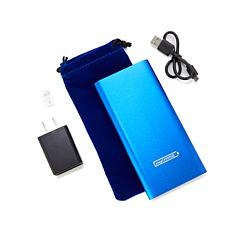 instaCHARGE 6,600 mAh Portable Charger with Pouch