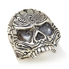 King Baby Jewelry Sterling Silver Sugar Skull Ring