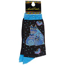 Laurel Burch Socks - Indigo Cats