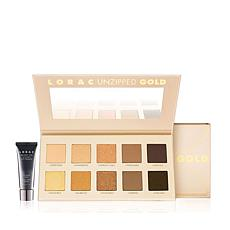 LORAC Unzipped GOLD Eye Shadow Palette Kit