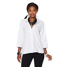 MarlaWynne Textured Button Down