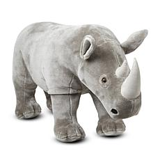Melissa & Doug Rhinoceros - Plush
