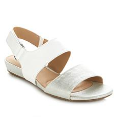 "Naturalizer ""Lanna"" Leather 2-Strap Sandal"
