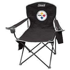 NFL Quad Chair with Armrest Cooler - Steelers