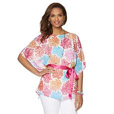 Nikki by Nikki Poulos Butterfly Top with Sash