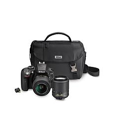 Nikon D3300 24MP DSLR Camera Kit w/Software