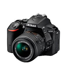 Nikon D5500 24.2MP DSLR Camera, 18-55mm Lens, 16GB Card