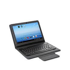 "NuVision 10.1"" Tablet w/Bluetooth Keyboard Case & Apps"