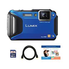 Panasonic LUMIX Tough 16.1MP 4.6X Zoom Camera Bundle