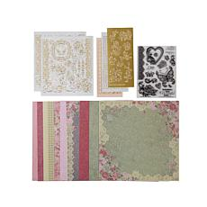 Paper Wishes Roses & Lace Papercrafting Kit